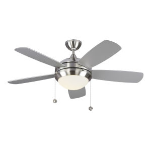 Discus Brushed Steel 44-Inch LED Ceiling Fan