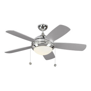 Discus Polished Nickel 44-Inch LED Ceiling Fan