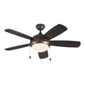 Discus Roman Bronze 44-Inch LED Ceiling Fan