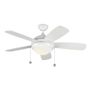 Discus White 44-Inch LED Ceiling Fan