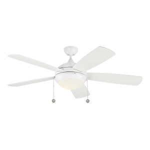 Discus White 52-Inch LED Ceiling Fan