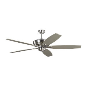 Dover Brushed Steel 60-Inch Ceiling Fan