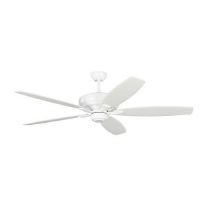 Dover Matte White 60-Inch Ceiling Fan