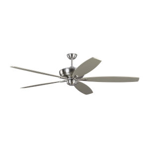 Dover Brushed Steel 68-Inch Ceiling Fan