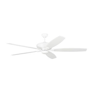 Dover Matte White 68-Inch Ceiling Fan