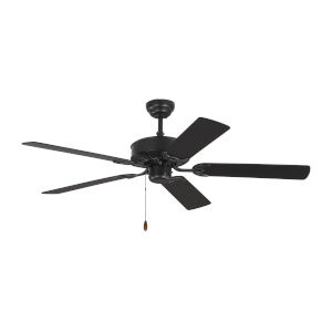 Haven Matte Black 52-Inch Ceiling Fan