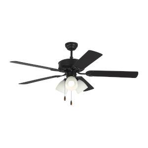 Haven Matte Black 52-Inch LED Ceiling Fan