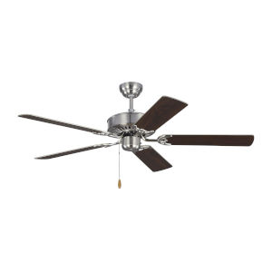 Haven Brushed Steel 52-Inch Ceiling Fan