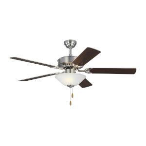 Haven II Brushed Steel 52-Inch LED Ceiling Fan