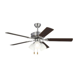 Haven Brushed Steel 52-Inch LED Ceiling Fan