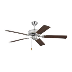 Haven Chrome 52-Inch Ceiling Fan