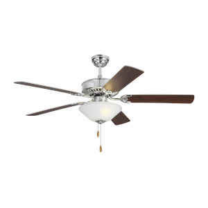 Haven II Chrome 52-Inch LED Ceiling Fan