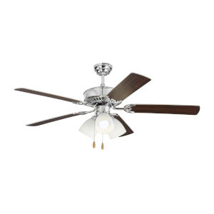 Haven Chrome 52-Inch LED Ceiling Fan