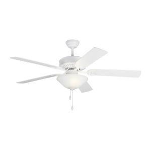Haven II Matte White 52-Inch LED Ceiling Fan