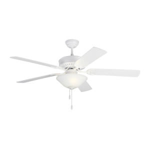 Haven Matte White 52-Inch LED Ceiling Fan