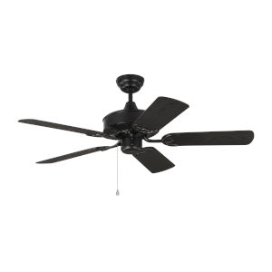 Haven Matte Black 44-Inch Outdoor Ceiling Fan