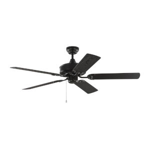 Haven Matte Black 52-Inch Outdoor Ceiling Fan