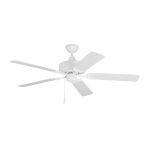 Haven Matte White 52-Inch Outdoor Ceiling Fan