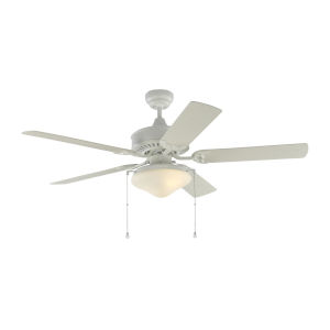 Haven Matte White 52-Inch LED Outdoor Ceiling Fan