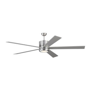 Vision Brushed Steel 72-Inch LED Ceiling Fan