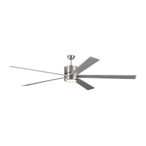 Vision Brushed Steel 84-Inch LED Ceiling Fan
