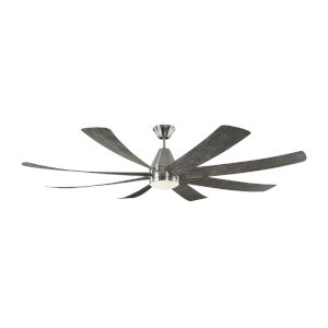 Kingston Brushed Steel 72-Inch LED Ceiling Fan