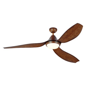 Avvo Max Koa 64-Inch LED Ceiling Fan