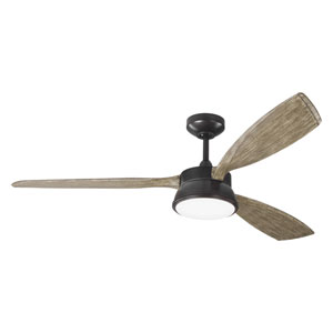 Destin Aged Pewter 57-Inch LED Ceiling Fan