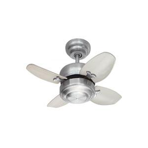 Mini Brushed Steel 20-Inch Ceiling Fan
