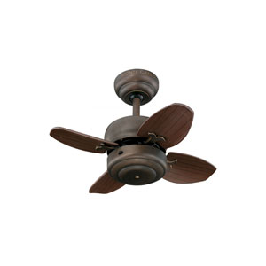 Mini Roman Bronze 20-Inch Ceiling Fan