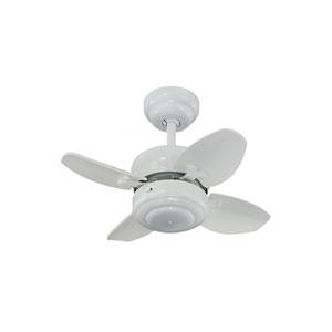 Mini White 20-Inch Ceiling Fan