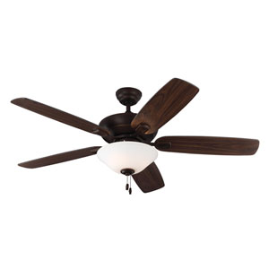 Colony Max Plus Roman Bronze 52-Inch Three-Light Ceiling Fan
