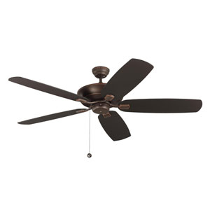 Colony Super Max 60-Inch Roman Bronze Ceiling Fan