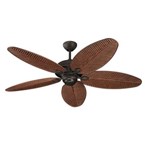 Cruise Roman Bronze 52-Inch Outdoor Ceiling Fan