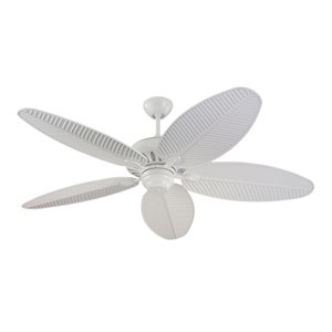 Cruise White 52-Inch Outdoor Ceiling Fan