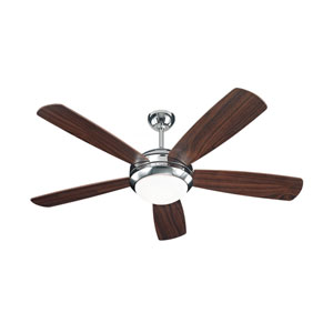 Discus Polished Nickel 52-Inch Ceiling Fan