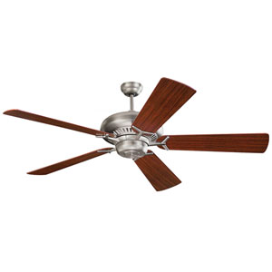 Grand Prix 60-Inch Brushed Steel Energy Star Ceiling Fan