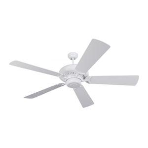 Grand Prix 60-Inch White Energy Star Ceiling Fan