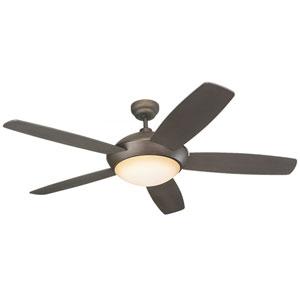 Sleek 52-Inch Roman Bronze Ceiling Fan