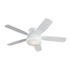 Traverse White 52-Inch Ceiling Fan
