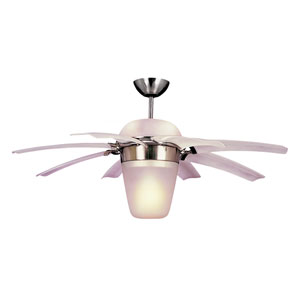 Airlift 44-Inch Brushed Steel Ceiling Fan