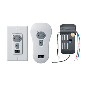 Combo Canopy Receiver/Wall Transmitter with Downlight Control