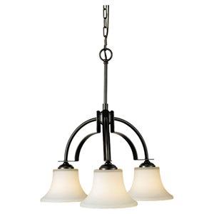 Barrington Oil Rubbed Bronze Three-Light Chandelier