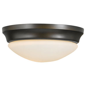 Barrington Oil Rubbed Bronze Indoor Flush Mount Fixture
