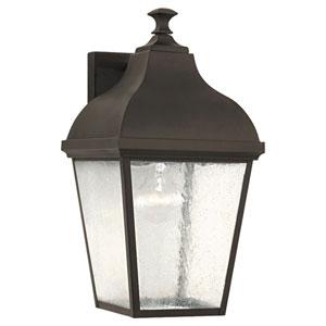 Terrace Oil Rubbed Bronze Outdoor Wall Lantern Light