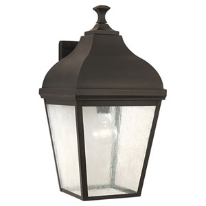 Terrace Oil Rubbed Bronze Outdoor Wall Lantern Light