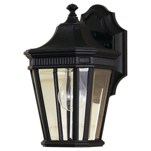 Cotswold Lane Black Outdoor Wall Lantern