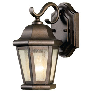 Martinsville Corinthian Bronze Outdoor Wall Lantern Light