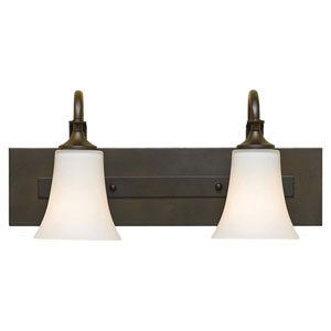 Barrington Oil Rubbed Bronze Two-Light Vanity Fixture