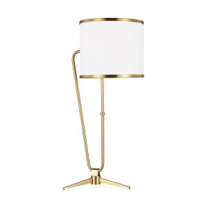 Jacobsen Burnished Brass One-Light Title 24 Table Lamp